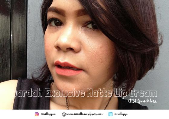 Wardah Exclusive Matte Lip Cream-5